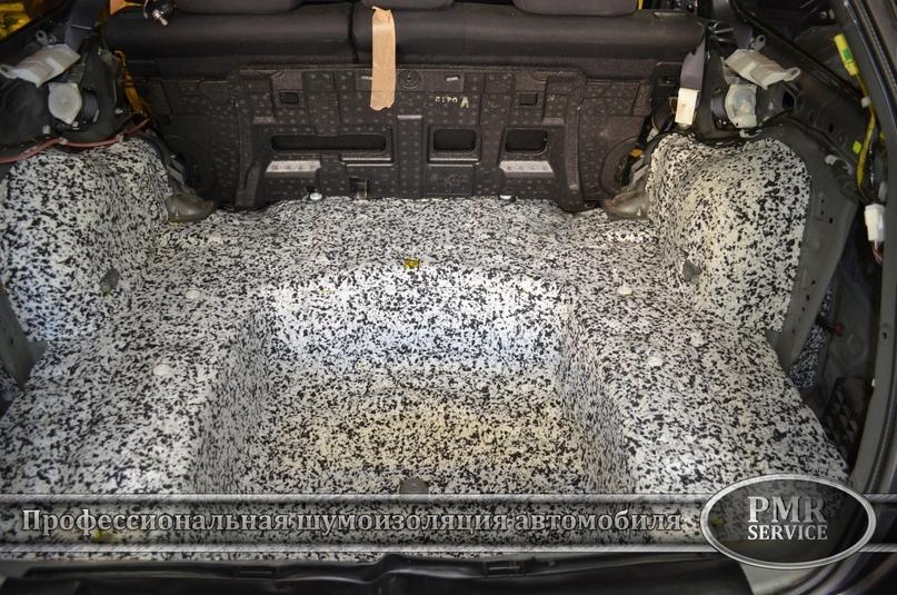 Шумоизоляция Subaru Outback, изображение №8