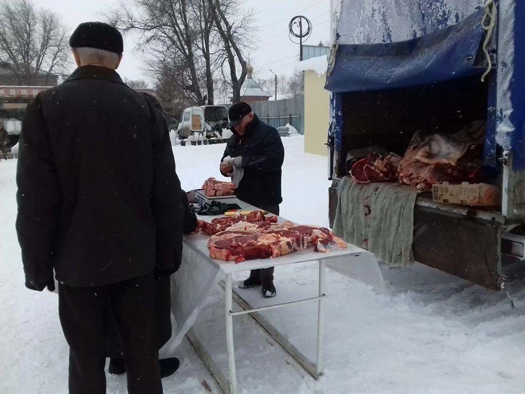 В Петровске на территории ООО «Городской рынок» прошла очередная сельскохозяйственная ярмарка