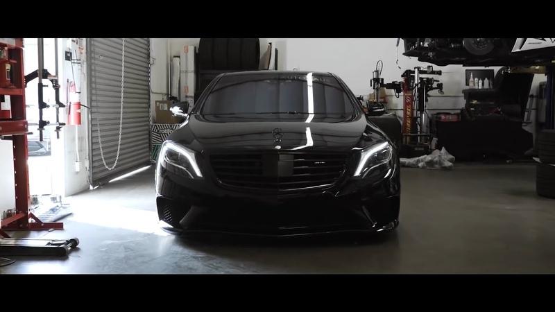 Черный дьявол | MERCEDES BENZ S63 AMG