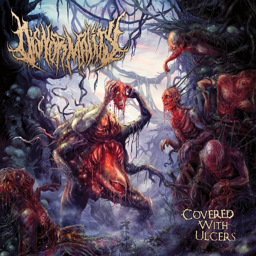 Disnormality - Covered With Ulcers (2019)