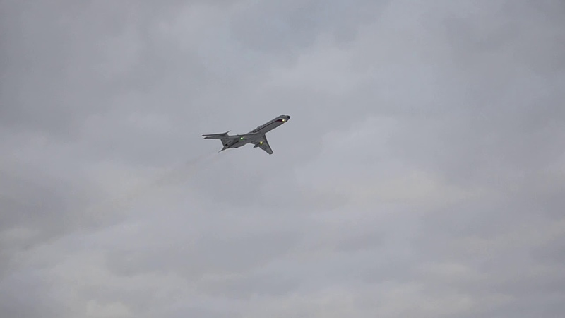 Взлет Tupolev Tu 134AK Takeoff Tupolev Tu 134AK