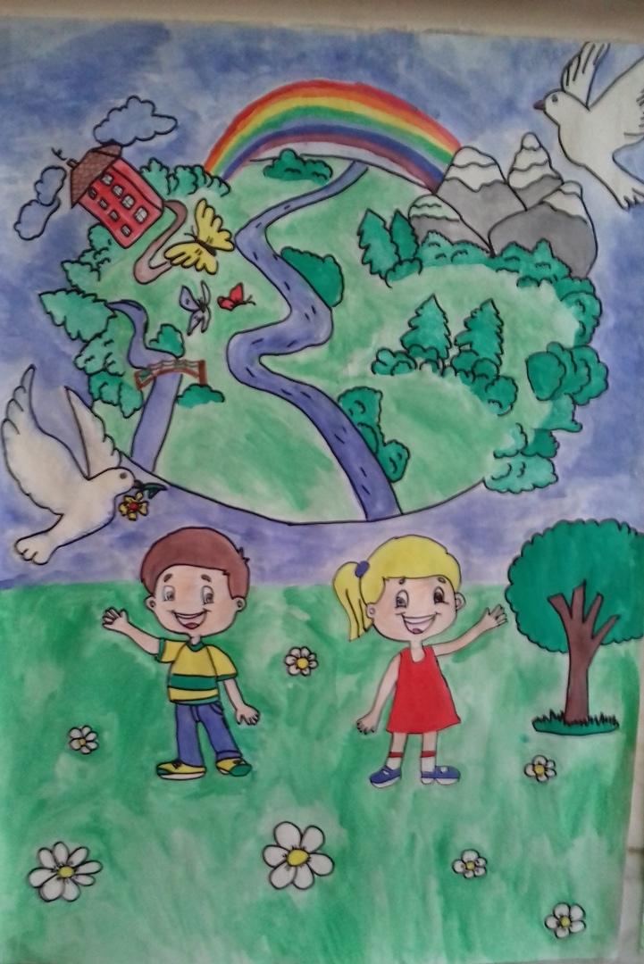 конкурс плакатов - «Мир глазами ребенка» 13.06