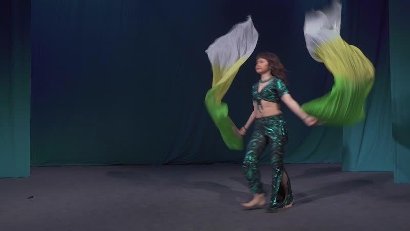 Танец с вейлами на открытом чемпионате по восточным танцам ! Нугуманова Светлана !