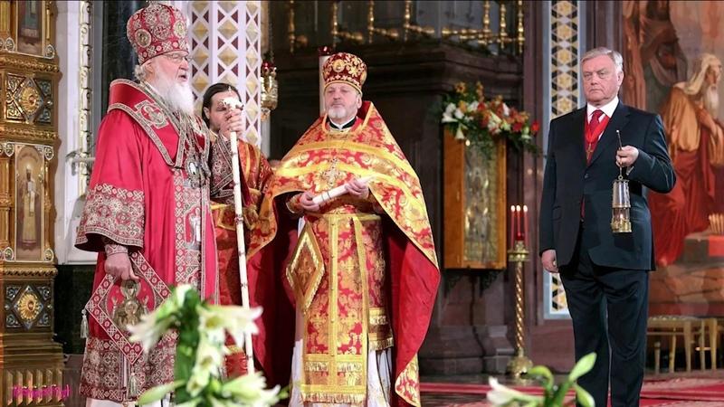 Патриарх не стерпел блатняка в храме и выслал архимандрита от греха подальше.