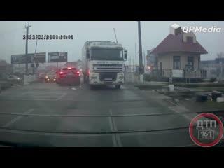 ДТП в Херсоне с фурой без водителя