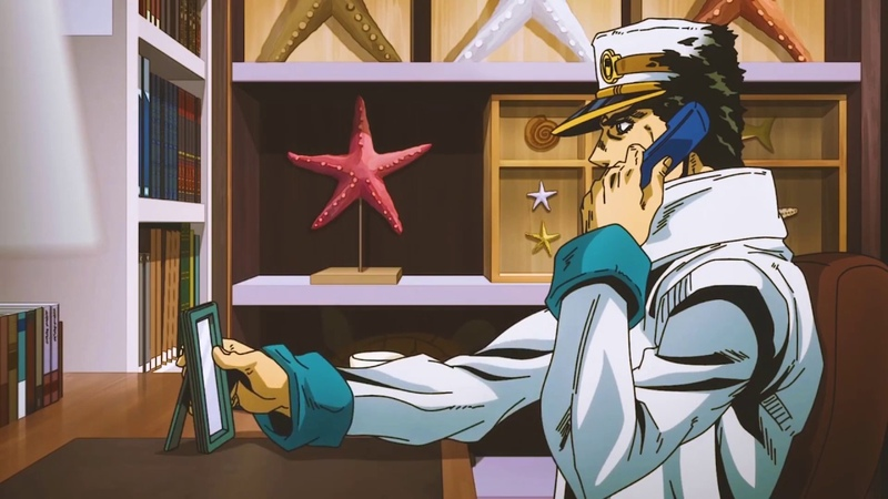 Jotaro remembers the stardust crusaders Up OST
