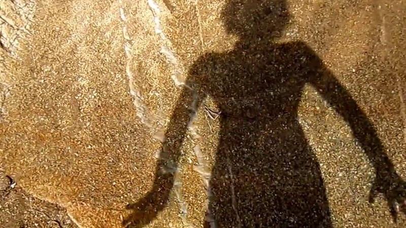 Танец тени. Селфи. Греция.