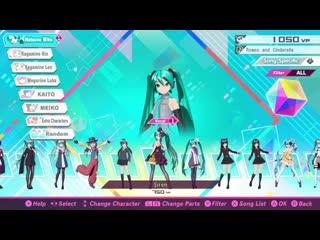 Hatsune Miku_ Project Diva Mega Mix - 15 minutes of footage