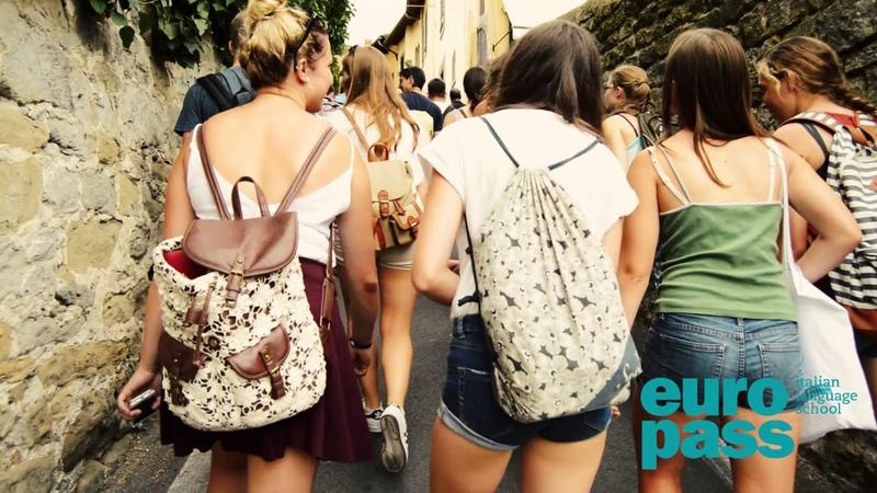 A journey in Fiesole with Europass students / Una giornata a Fiesole con i nostri studenti