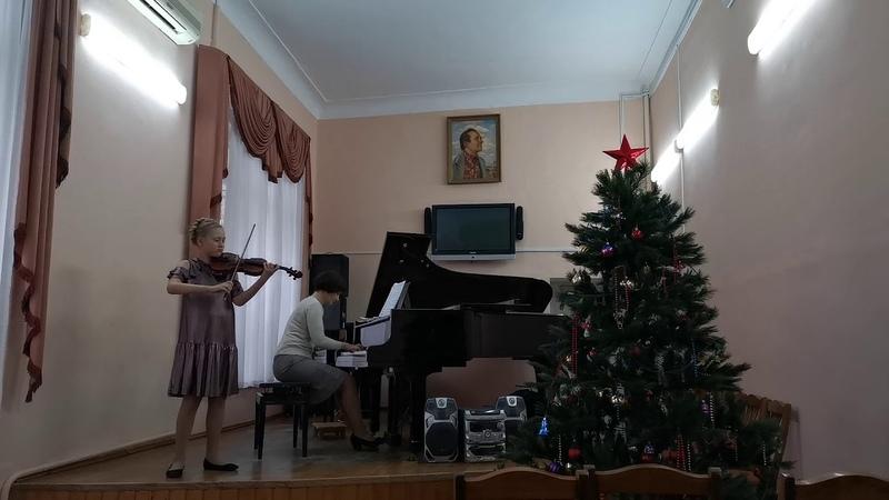 Кооль Полина Алексеевна, г. Краснодар, 11 лет, Сицилиана и Ригодон Ф.Крейслер