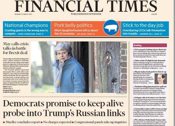 Financial Times Europe - 25 03 2019