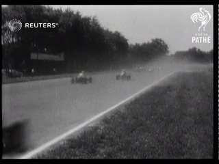 USA: Racecar driver Mauri Rose wins Indy 500 in US (1948)