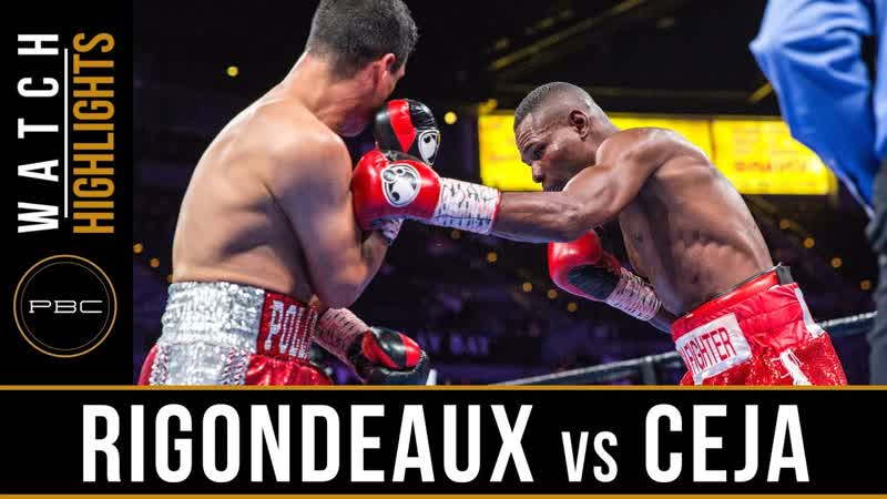 Rigondeaux vs Ceja [Highlights] June 23, 2019