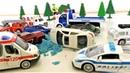Мультик про машинки для детей - Джокер рассыпал песок на трассе и машинки попали в аварию