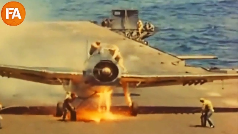 Vintage Aircraft Carrier Landings - Fails and Mishaps