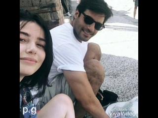 Serkan cayoglu e Ozge Gurel vacanze 2019 in Italia grazie