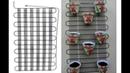 Suporte para vasos de flores feito com condensador de geladeira grade traseira da geladeira