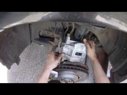 Замена тормозных колодок LEXUS RX350 колодки Power Stop Z23-1005