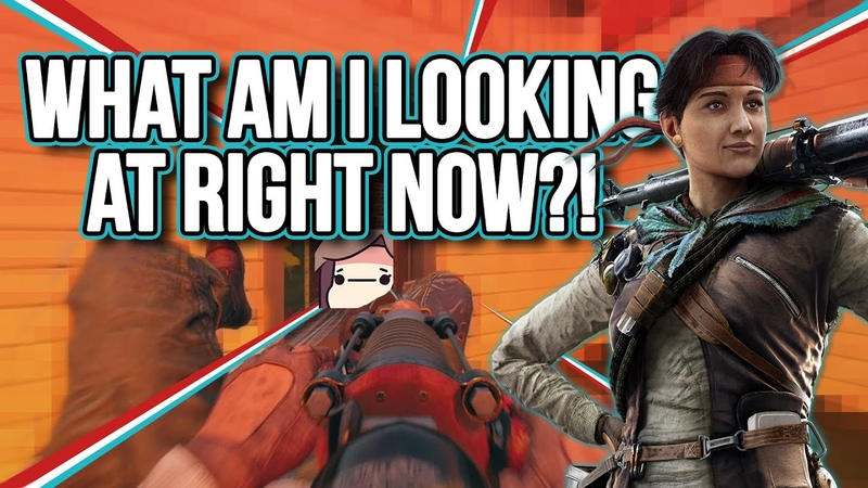WHAT AM I LOOKING AT RIGHT NOW?! | Rainbow Six Siege