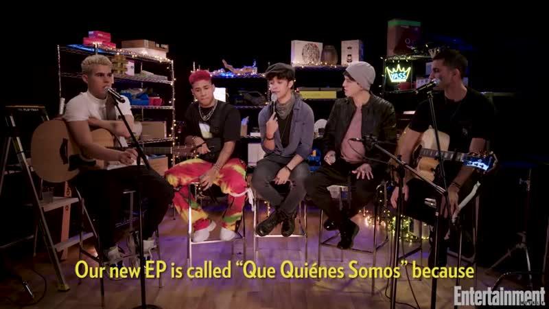 CNCO Announces New EP `Que Quiénes Somos` ¦ Entertainment Weekly