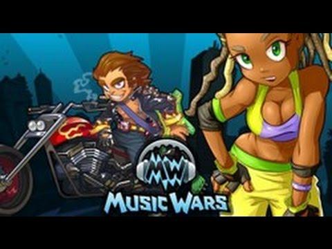 MusicWars Победа босса с атамки