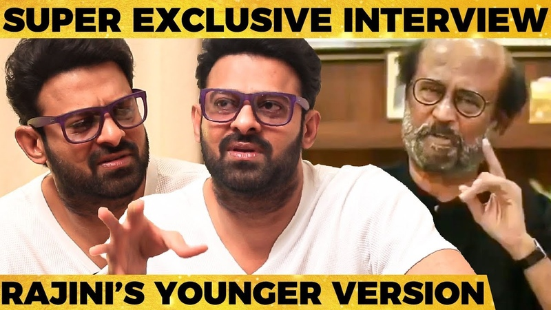 Rajinis Phone Call, My Salary, Relationship Status, Vijay, Ajith more.. - Saaho Prabhas Interview