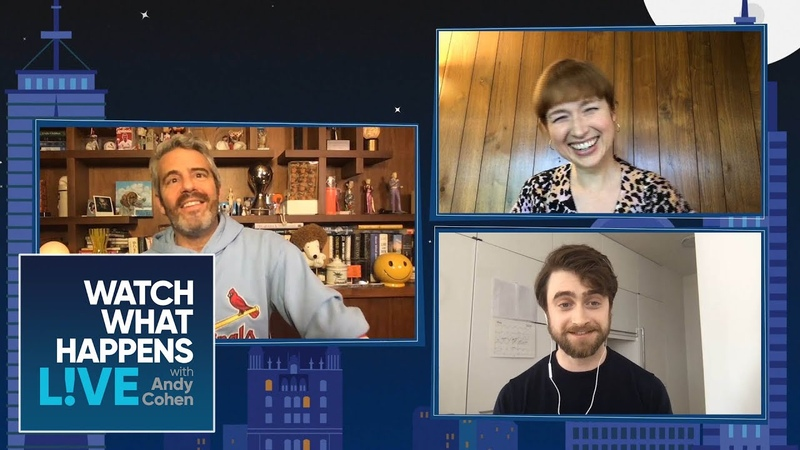 Daniel Radcliffe Ellie Kemper's Post Quarantine Plans WWHL