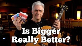 Does String Gauge Matter On Acoustic Guitar