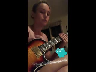 Brie Larson - Needy (Cover)