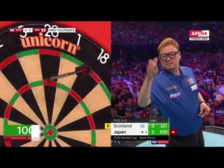 Scotland vs Japan (PDC World Cup of Darts 2019 / Semi Final)
