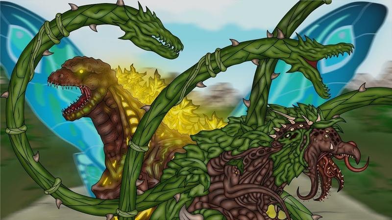 Кинг Конг против Годзиллы 20 King Kong vs Godzilla 20 Shin Godzilla Biollante