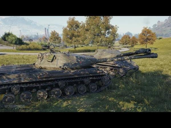 Wot цепкие лапы 703 II или советская двухстволка