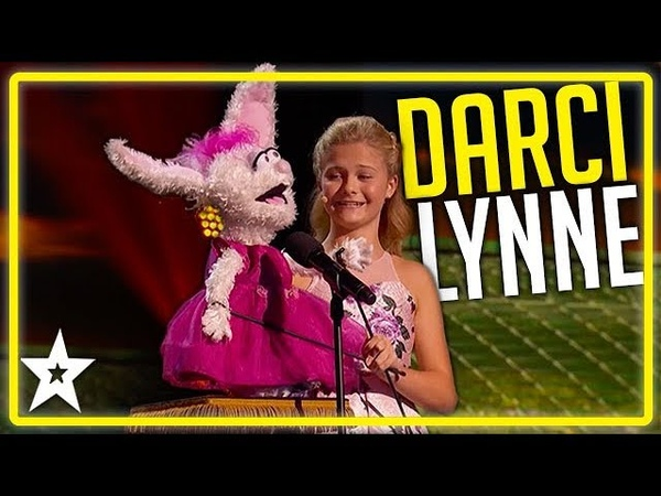 Champion Ventriloquist Of The World Darci Lynne on AGT All Performances Kids Got Talent
