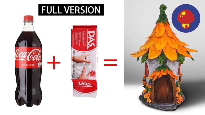 ❣DIY Fairy House Lamp Using Coke Plastic Bottles❣DIY Sunflower Fairy House