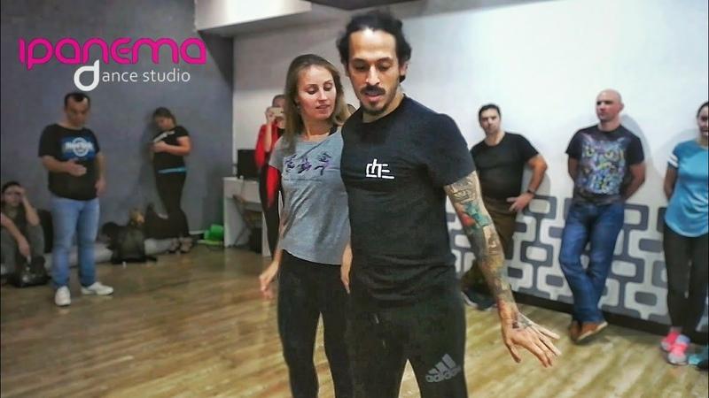 Carlos and Anastasia Oliveira. Zouk demo. Imbranato