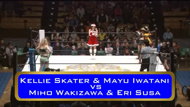 Eri Susa Miho Wakizawa vs Kellie Skater Mayu Iwatani