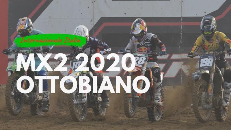 MX2 2020 Motocross Ottobiano RAW ft Renaux Vialle Fachetti Moosdijk Hofer Benistant Haarup