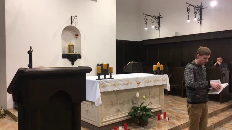 XXXIII е рядовое воскресенье в монастырском храме св Антония Чудотворца
