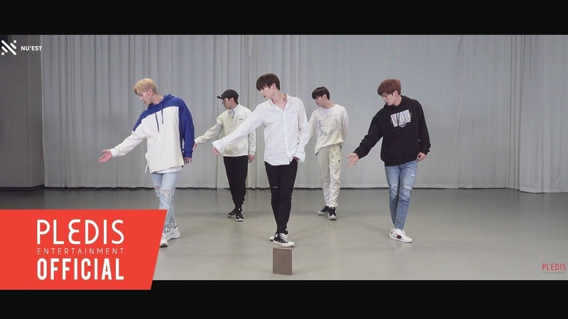 Choreography Video NU'EST 뉴이스트 BET BET кфк