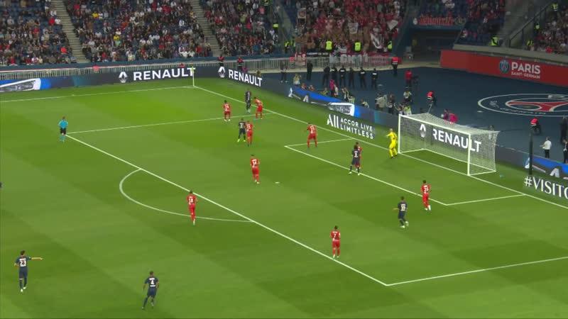 ПСЖ - Ним. Paris Saint-Germain - Nîmes Olympique. Résumé - (PARIS - NIMES) 2019-20