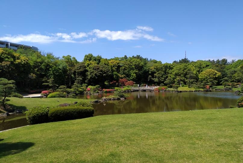 Парк Макухари, префектура Тиба
