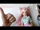 Ободок для куклы bjd minifee своими руками