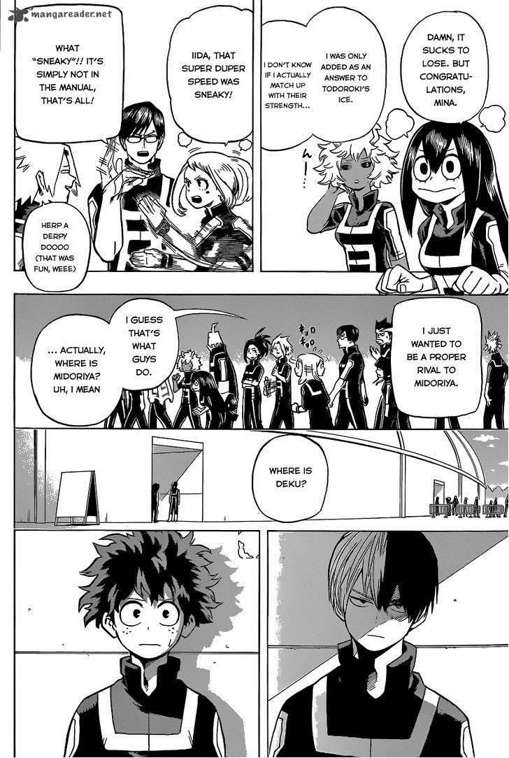 Boku No Hero Academia, Chapter 30, image #22