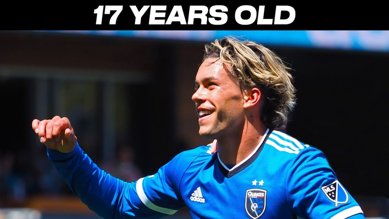 17 Year Old Phenom Cade Cowell with a MUST SEE GOAL and ASSIST for San Jose Earthquakes