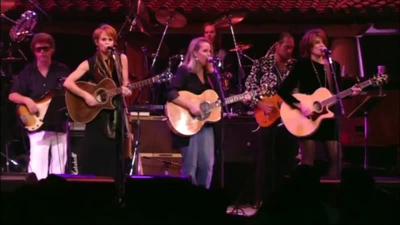 Mary Chapin Carpenter, Rosanne Cash and Shawn Colvin - You Aint Goin Nowhere (Bob Dylan Concert Celebration 1992