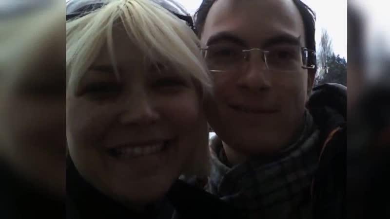 Io Leandro con Federica Rosatelli ex gieffina 9