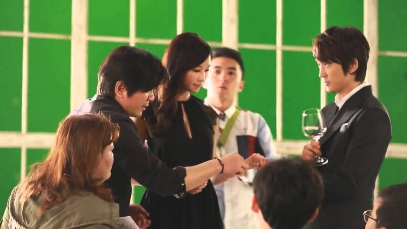 Lotte Duty Free 2013 Music Video Making (KR Ver.) - Song Seung HeonLin Chi Ling