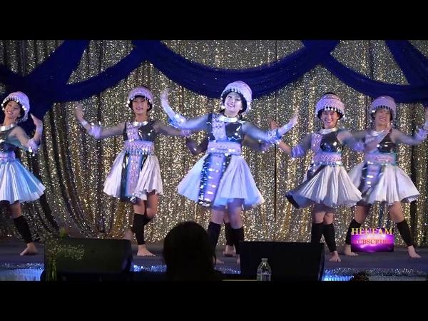Merced Hmong New Year 2019 2020 Dance Comp Rnd 1 Nkauj Huam Keej