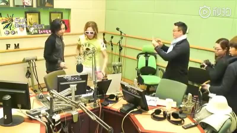 01.05.2013 JKS на KBS Cool FM, в программе Verbal Jint Pops Pops
