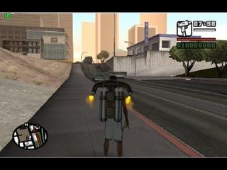 GTA San Andreas Электричка едет по трамвайным путям [видео]